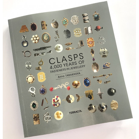 English version, soft cover, CLASPS, 4,000 Years of Fasteners in Jewellery